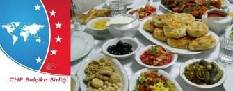 CHP BB üyelerine iftar organize ediyor