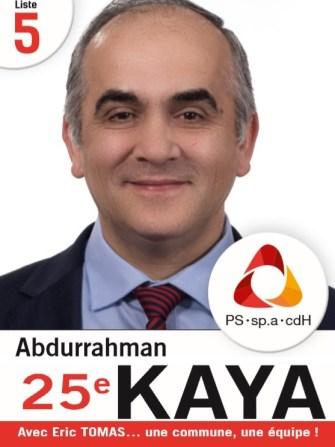 Anderlecht Belediyesi PS-Sp.a-cdH ortak listesi 25 sıra adayı Abdurrahman Kaya: Şeffaf yönetim, temizlik ve sosyal- kültürel olanaklardan vatandaşlarımızın faydalanabilmesi için çalışacağım