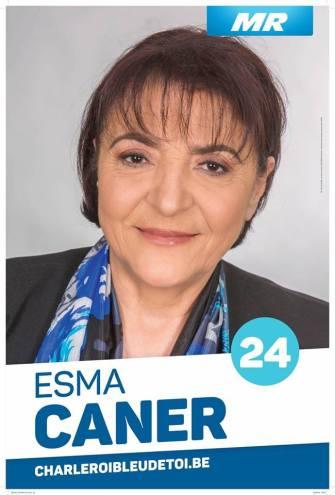 Charleroi Belediyesi   MR listesi  24. Sıra adayı  Esma Caner: Koltuk sevdalısı değil, hizmet sevdalısıyım!