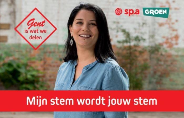 Gent Belediyesi Sp.a/Groen listesi 18. Sıra adayı Emine İşçi: Sadece Türk olduğum için değil, Gent şehrine bir katkım olacağına inanıyorsanız bana oy verin