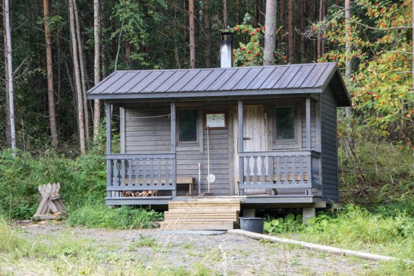 Kontiolahden kunnan ylläpitämä Sauna Kiviniemellä