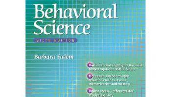 Download brs behavioral science (board review series) book pdf.