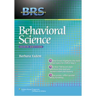Brs behavioral sciences 5th edition pdf.