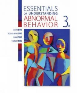 Essentials of Understanding Abnormal Behavior 3rd Edition PDF