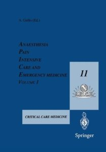 Anaesthesia Pain Intensive Care and Emergency Medicine 11