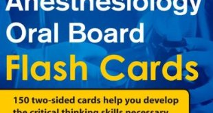 Anesthesiology Oral Board Flash Cards PDF