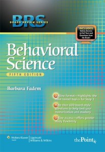 BRS Behavioral Sciences 5th Edition