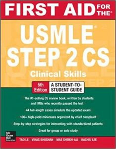 First Aid for the USMLE STEP 2 CS 5th Edition PDF