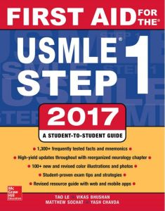 First Aid for the USMLE Step 1 2017 PDF