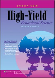 High Yield Behavioral Science 4th Edition PDF
