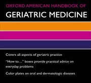 Oxford American Handbook of Geriatric Medicine PDF
