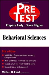 Behavioral Sciences PreTest Self-Assessment and Review 9th Edition PDF