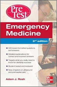 Emergency Medicine PreTest Self-Assessment and Review 3rd Edition PDF