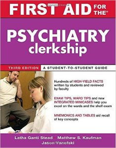 First Aid for the Psychiatry Clerkship PDF