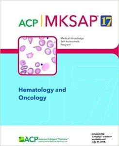 MKSAP 17 Hematology and Oncology PDF