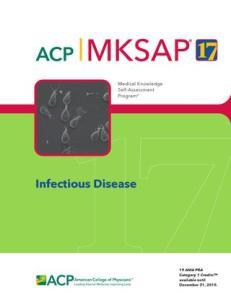 MKSAP 17 Infectious Disease PDF