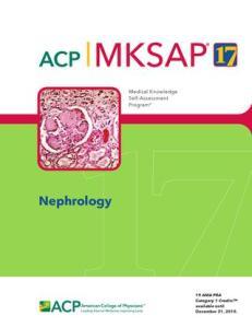 MKSAP 17 Nephrology PDF