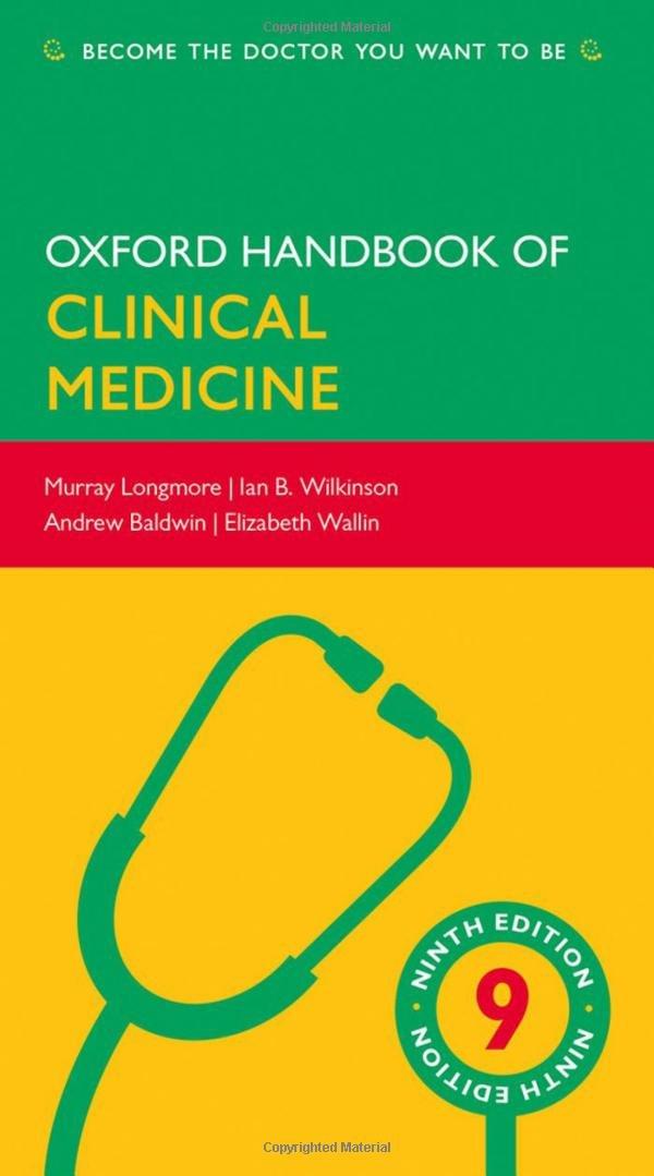 Oxford Handbook of Clinical Medicine - Vários, WILKINSON ...