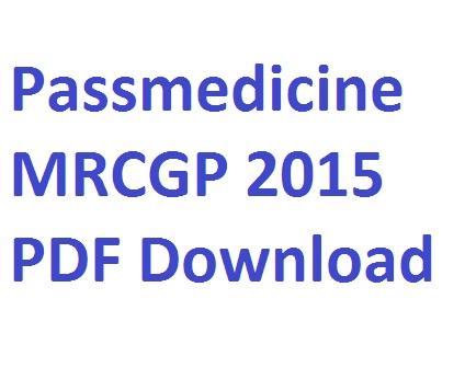 Pdf passmedicine 2015