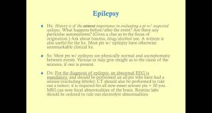 Epilepsy - Medical Review Series