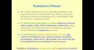 Parkinson's Disease - Medical Review Series