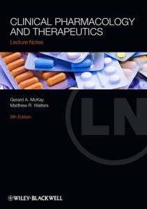 Clinical Pharmacology and Therapeutics Lecture Notes 9th Edition PDF