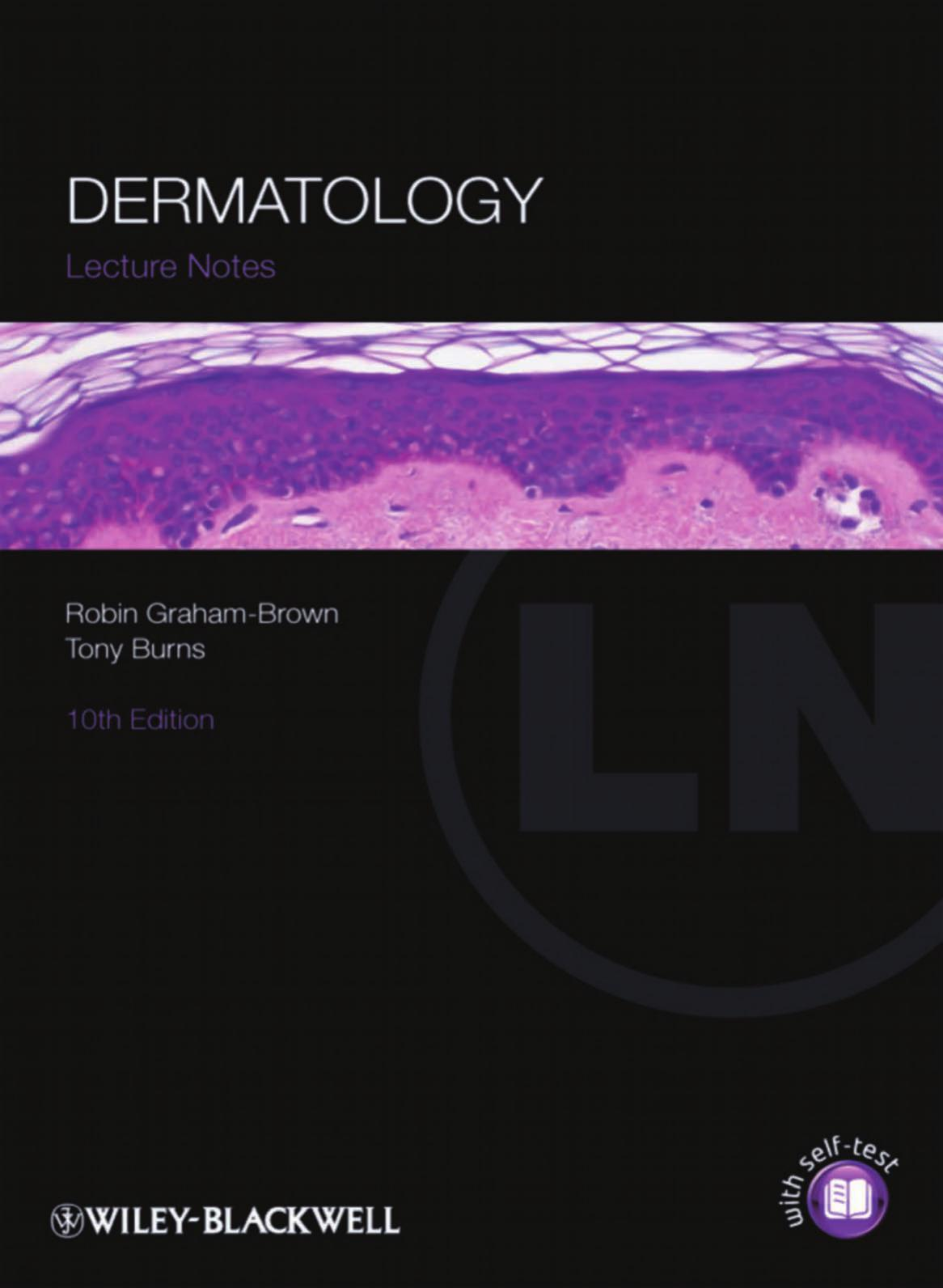 Dermatology Lecture Notes 10th Edition PDF - Wiley-Blackwell
