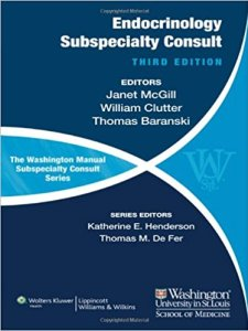 Washington Manual of Endocrinology Subspeciality Consult 3rd Edition PDF