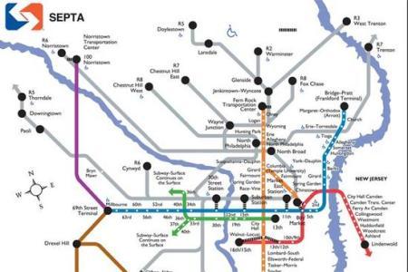Map Trains Philadelphia Free Wallpaper For MAPS Full Maps - Philly train map