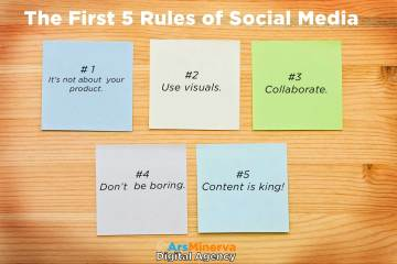 The First 5 Rules of Social Media