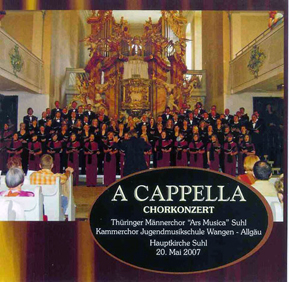 "CD ""A Capella"""