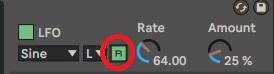 Mode Retrigger LFO sur Ableton