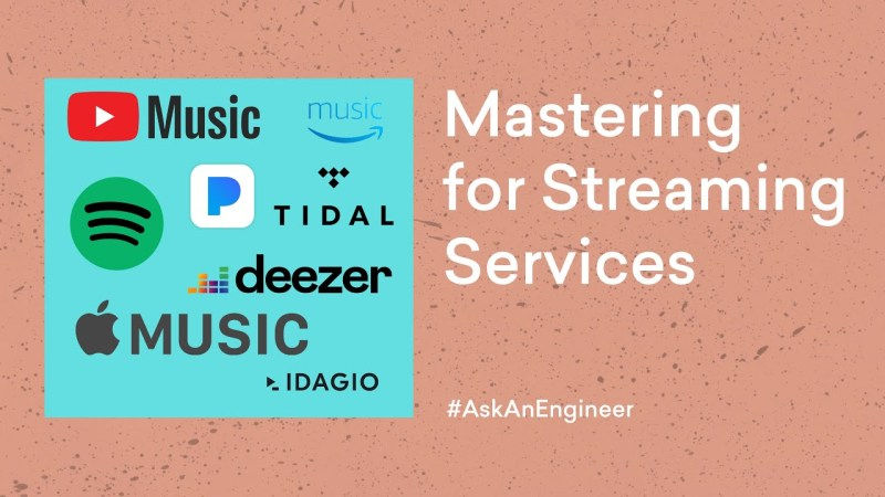 IA Mastering for streaming services