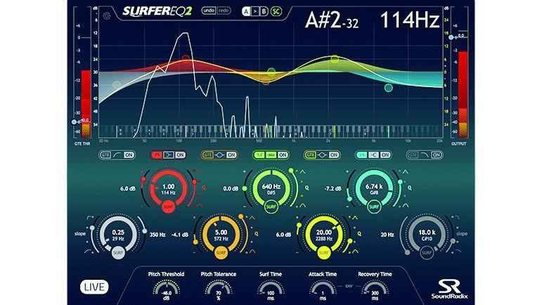 plug-in audio SurferEQ