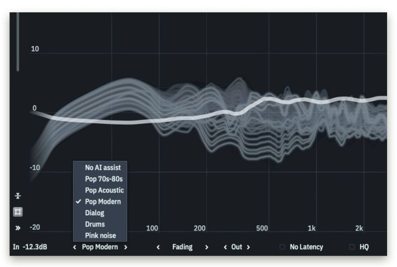 Tonebooster Equalizer 4 plug-in IA