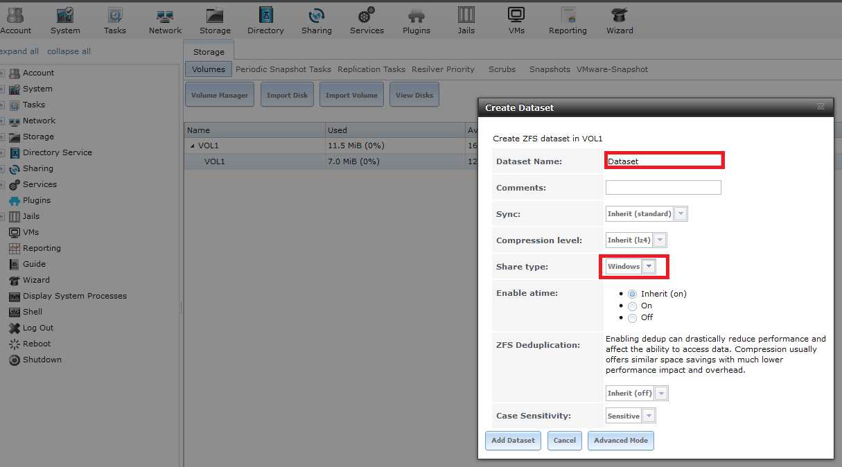 How To Create FreeNAS Windows SMB Share  Step By Step