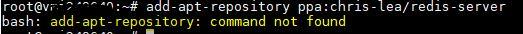add-apt-repository: command not found
