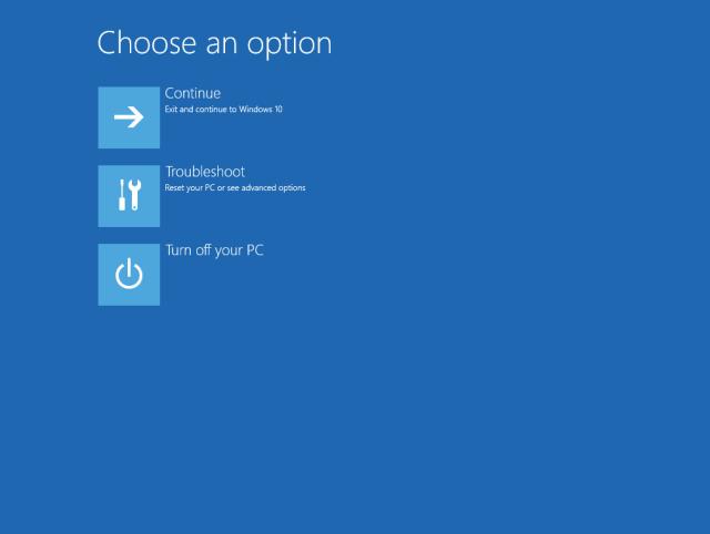 Choose an option