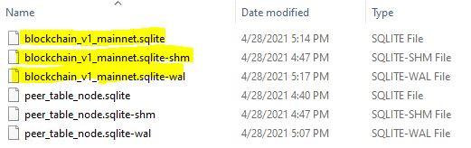 delete chia wallet database
