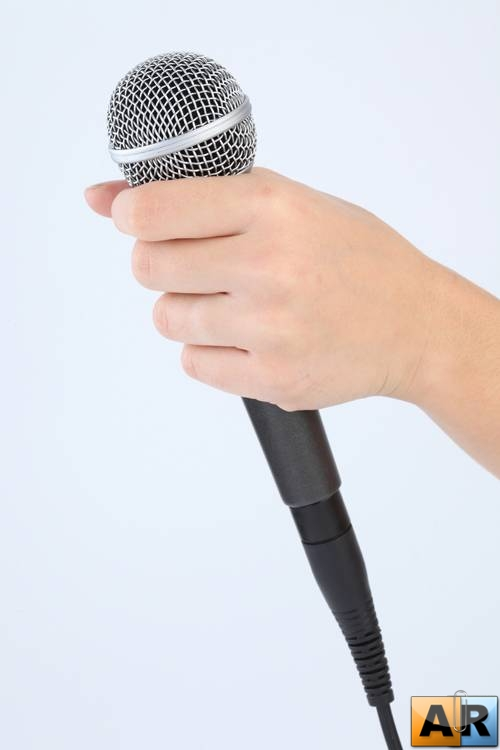 Microphone in hand Микрофон в руках 187 ArStyleorg