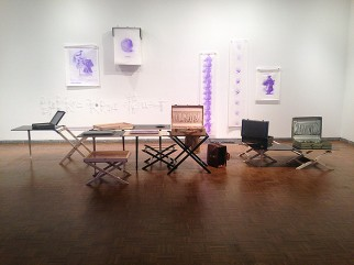 Valerie Snobeck and Catherine Sullivan, Image of Limited Good, 2014.