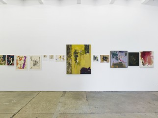 "View of Julian Beck, ""Now in Paradise – 1944/1958,"" Supportico Lopez, Berlin, 2014."