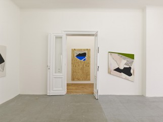 View of Seth Price, EDEN EDEN, Berlin, 2014.