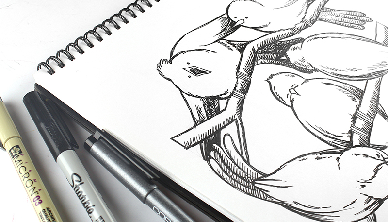 Whimsical Sketching Class