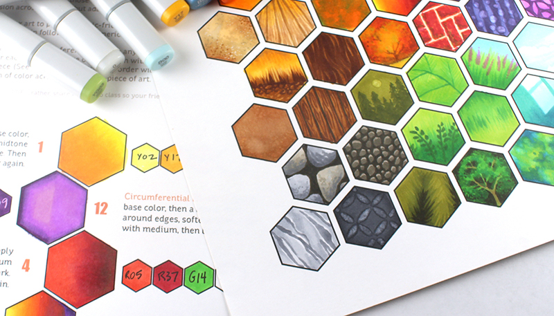 Copic Hex Art