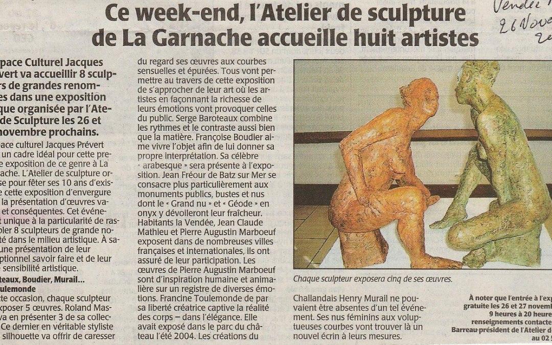 Vendée Matin – 26 nov 2005