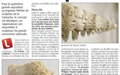 Courrier Vendéen – 6 nov 2014
