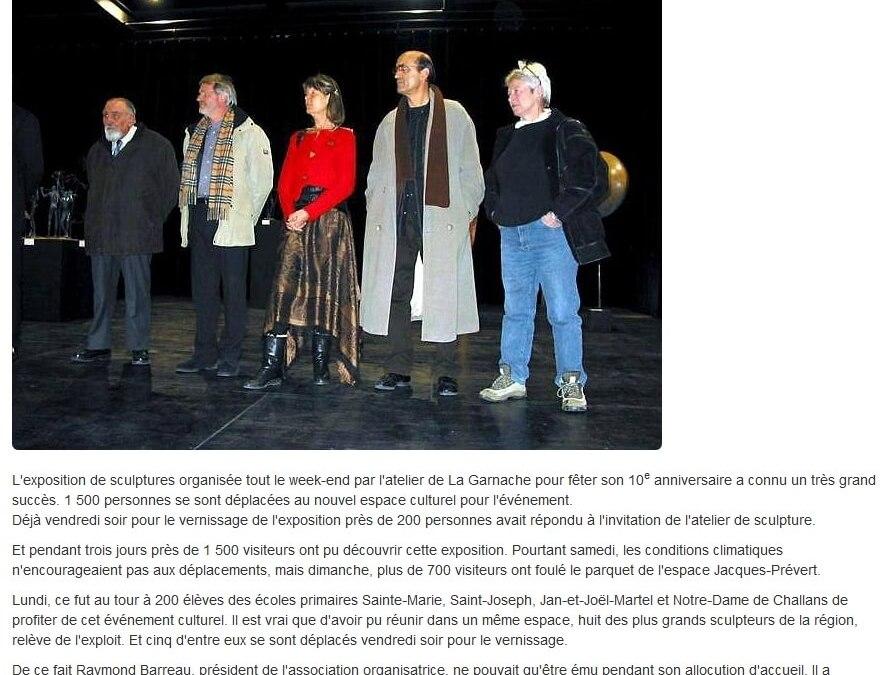 Ouest France – 1 déc 2005