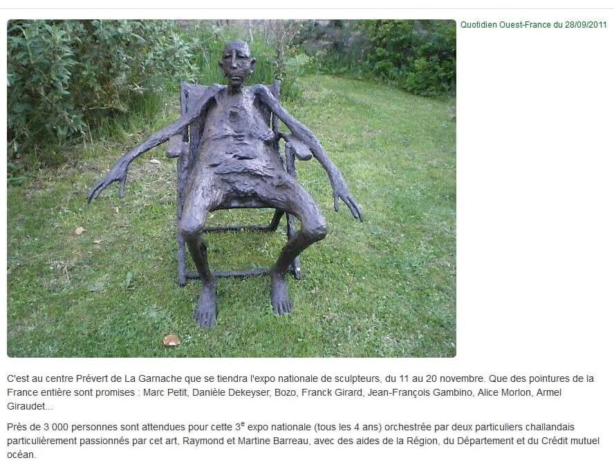 Ouest France – 28 Sept 2011