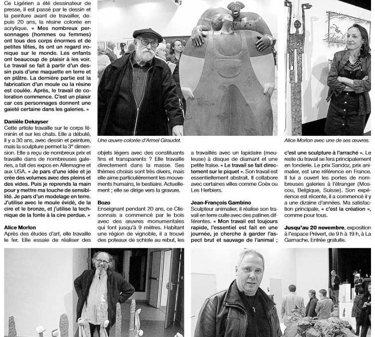 Ouest France – 18 nov 2011